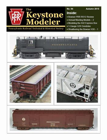 My Library - The Keystone Modeler 94 Autumn 2015 Articles
